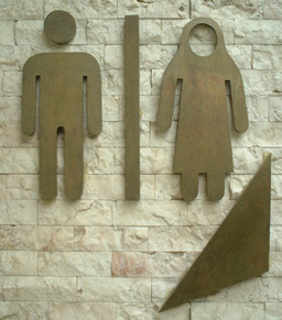 Toilet Sign dari Berbagai Negara
